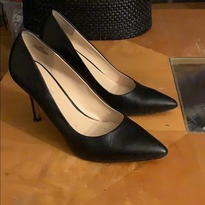 Nine West the Flax genuine leather pumps shoes 8M